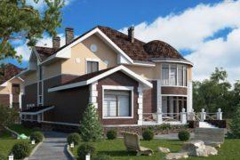 Проект двухэтажного дома «Таскана-2» (562 кв.м.)