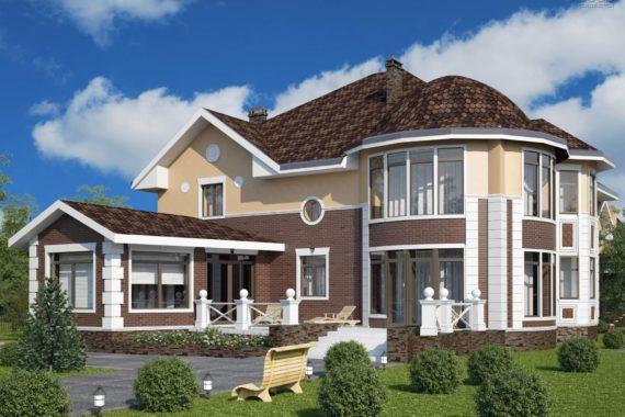 Проект трехэтажного дома «Таскана-3» (583 кв.м.)