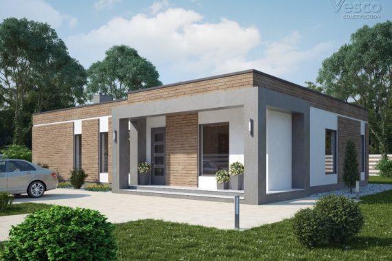 Проект одноэтажного дома Нуара (179,8 кв.м.)