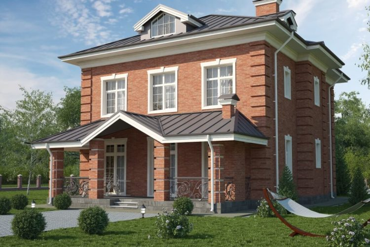 Проект дома в Английском стиле Дарли-1