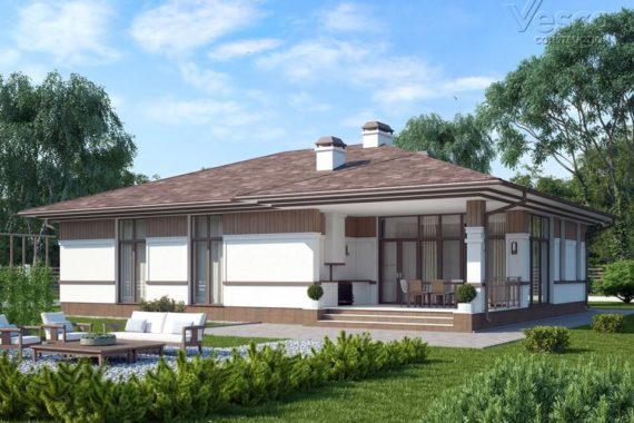 Проект одноэтажного дома Монреаль (175,2 кв.м.)