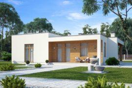 Проект одноэтажного дома Лир (159,7 кв.м.)