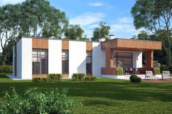 Проект одноэтажного дома Вельц (156 м²)