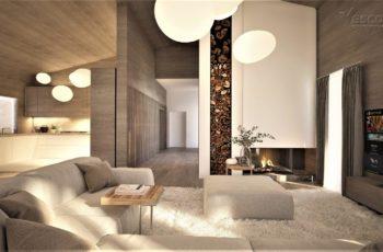 Эскиз дизайн-проекта дома Чендлер