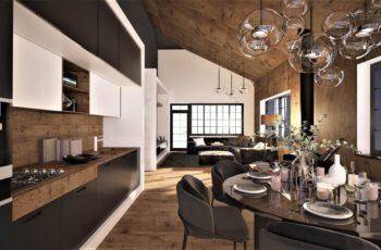 Эскиз дизайн-проекта дома Марини