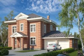 Проект дома в Английском стиле Дарли-2