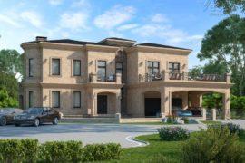Проект дома в стиле Модерн Римини