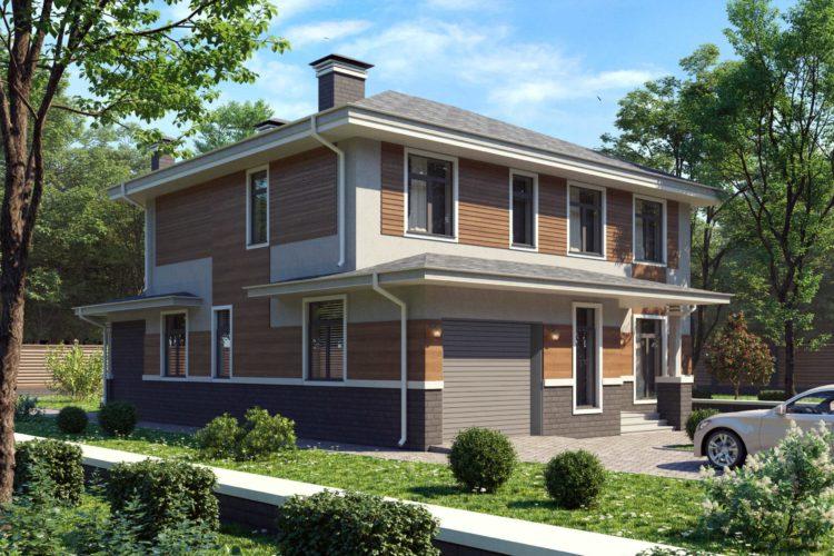 Проект дома в современном стиле Торнео, 251 м²