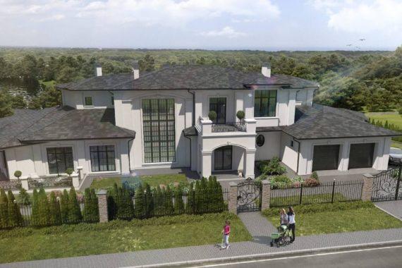 Проект двухэтажного особняка РИВУАР, 987 м²