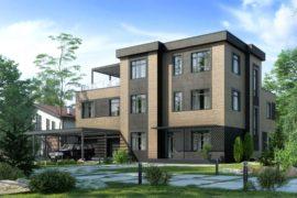Проект дома Сезанн (761 кв.м.)