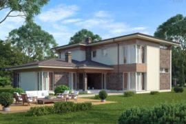 Проект двухэтажного дома Чендлер-2, 325 м²