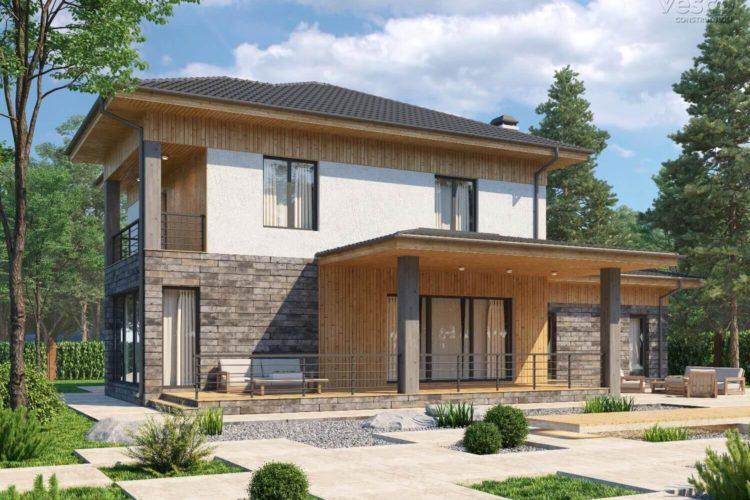 Проект двухэтажного дома Гронинген (269,2 кв.м.)