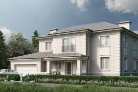Современный особняк в неоклассическом стиле Модена-2, 388 м²