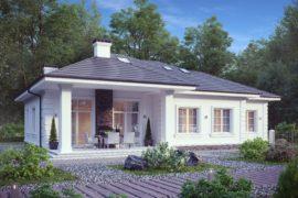 Проект одноэтажного дома ВЕРОНА-2, 258 м²