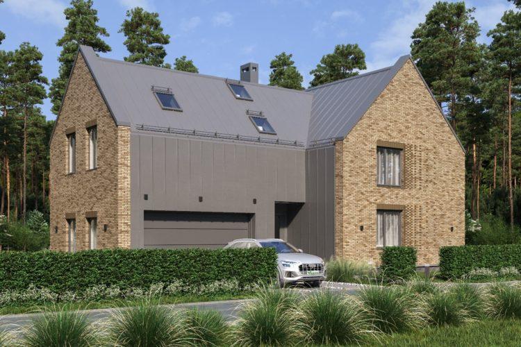 Двухэтажный проект в стиле барн Катвуд, 332 м²