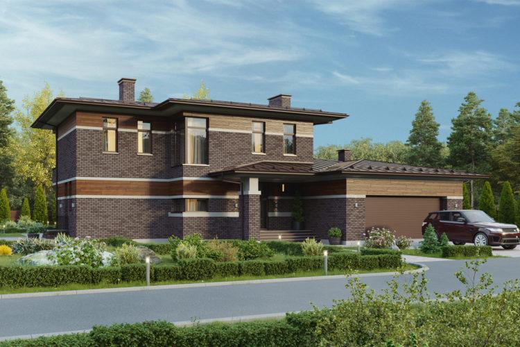Проект в стиле Прерий — КЛАРЕНС, 455 м²