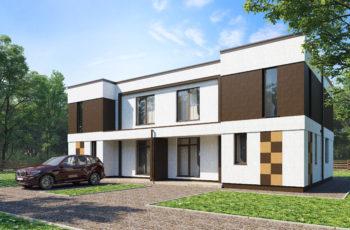 Индивидуальное проектирование двухсекционных двухэтажных домов для ЖК в г. Тольятти