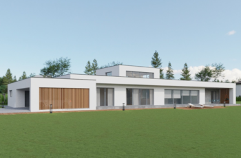 Индивидуальное проектирование одноэтажного дома в стиле Минимализм