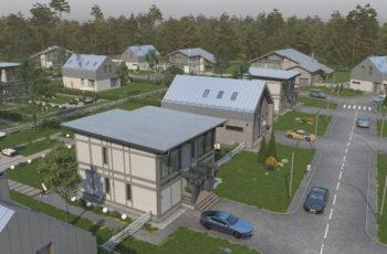 Проектирование линейки домов для коттеджного поселка, Бужаровское